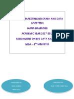 Assignment (Big Data) EFAZ Ahmad