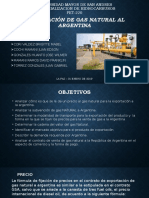 Presentacion de Comercializacion de gas a la argentina