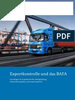 Afk Merkblatt Exportkontrolle Bafa