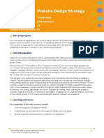 Unit 34 Website Design Strategy Issue 2