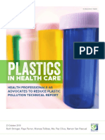 PlasticsInHealthcare Report 2018