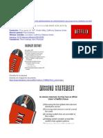 Alineaciòn estrategica de Netflix