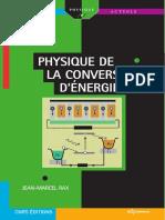 Physique de La Conversion d'Energie (2015) - Jean-Marcel RAX [PDF]