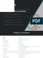 Mpofana Municipality General Valuation Roll - 31 March 2019
