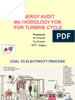 Energy Audit- Turbine Cycle