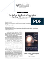 Resenhas the Oxford Handbook of Innovation