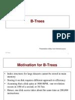 B Trees