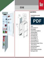 Frigider Teka CI3 342 FP