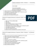 Evaluación de TIC Tecnología de La Información y La Comunicación 11