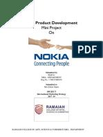 24667478 New Product Development of Nokia
