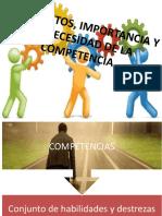 Propósito de la formación Basada en Competencias