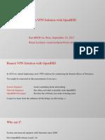 Eurobsdcon2017 Branch VPN