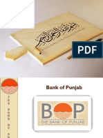 PPT on Bank of Punjab Pakistan