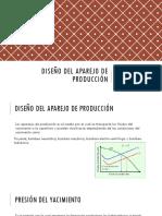Diseño del aparejo de producción