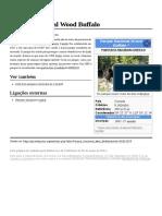 Parque Nacional Wood Buffalo
