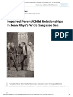 Impaired Parent_Child Relationships in Jean Rhys's Wide Sargasso Sea – the Literature Blog