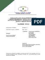 CR-10.2 Cerinte_specif. Genetica