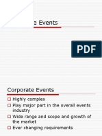 Marketing for Corporate Events