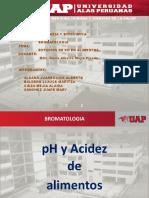 ph acidos
