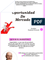 Oportunidad de Mercado