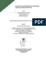 Manual de Calidad Eventos y Refrigerios