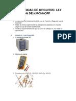 Informe Final 4-Ley de Tensión de Kirchoff