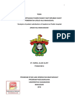 """ANALISIS KEPUASAN PASIEN RAWAT INAP DIRUMAH SAKIT PEMERINTAH (RSUD HAJI MAKASSAR) """"Analysis of patient satisfaction of Inpatient at Public hospital (RSUD HAJI MAKASSAR)"""".pdf"""