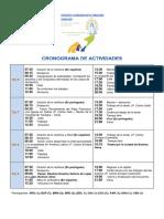 Cronograma Encuentro de Formadores Dehonianos Latinoamericano 2019 II