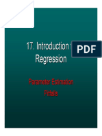 Introduction Linear Regression