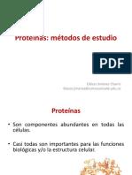 métodos de separación de  proteinas