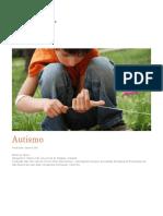 Enciclopedia Sobre o Desenvolvimento Na Primeria Infancia. Autismo