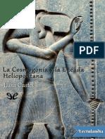 La Cosmogonia y La Eneada Heliopolitana - Elisa Castel