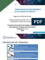 Esquema de Configuracion de Mecanismos y Politicas de Calidad de Servicio