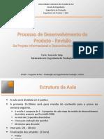 Processo do desenvolvimento do produto