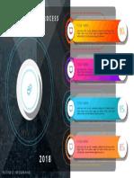 Business Diagram Infographics, Process, Flowchart, Smartart, Illustration Design in PowerPoint