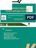 Ppt Analisa Golongan Barbital