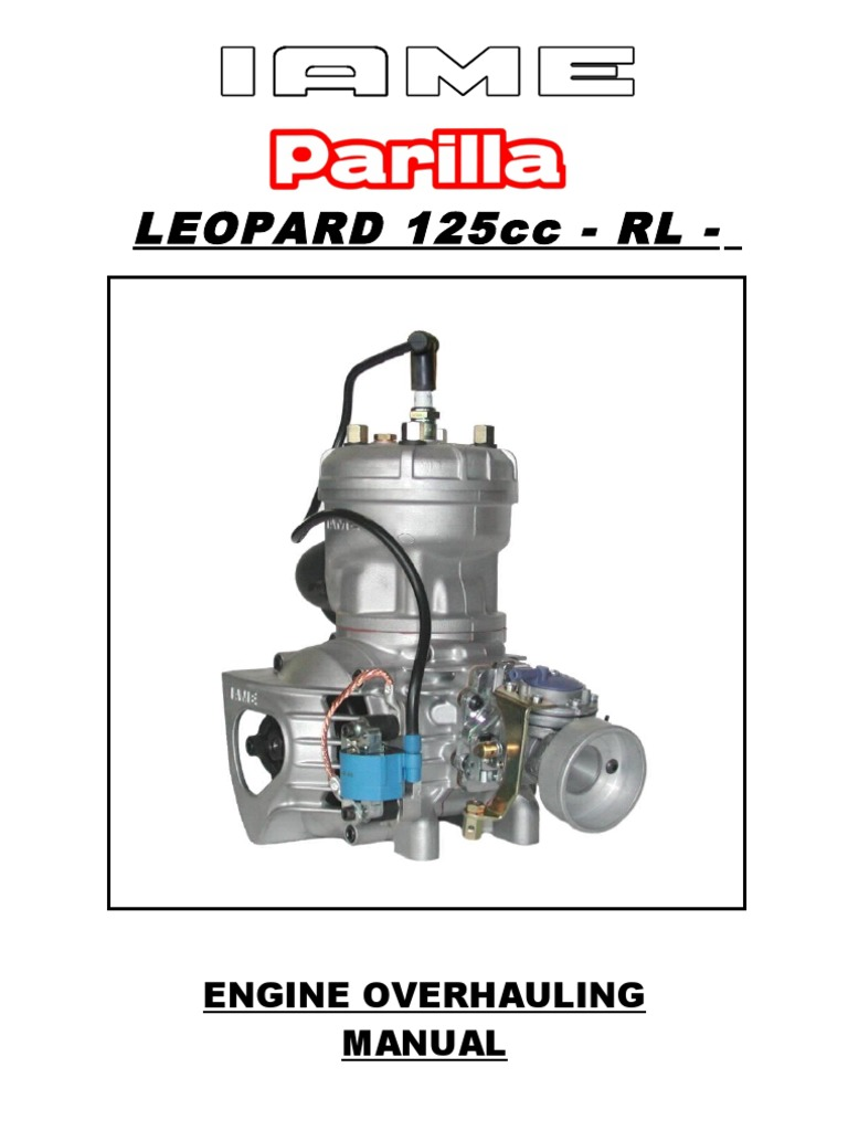 iame overhaul manual leopard rh scribd com