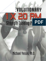 The Revolutionary 1 x 20 RM Strength Training Program - Michael Yessis (With Love From Croker2016)