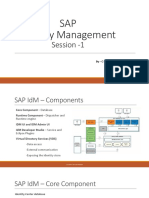 SAP Identity Management 8.0 - Basics