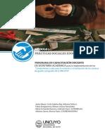Cuadernillo de Prácticas Sociales en Artes y Diseño.