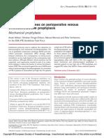 European Guidelines on Perioperative Venous.7