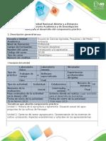 Guía Para El Desarrollo Del Componente Práctico - Salida de Campo - Tarea 5