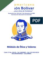 ISSIB008 Módulo de Ética y Valores