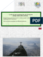 Les Sites Olympiques - Rio 2016