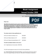Unit 1 Assignment Brief