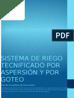 SISTEMA DE RIEGO TECNIFICADO POR ASPERSION Y POR GOTEO.docx