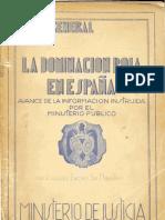 La Causa General - Ministerio de Justicia - 1943