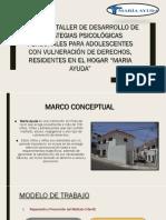PROYECTO TALLER PARA ADOLESCENTES DEL MARIA AYUDA OK.pptx