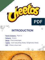 Cheetos repositioning