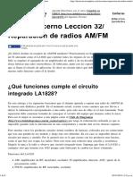 Reparación de Radios AM_FM » Electrónica Completa